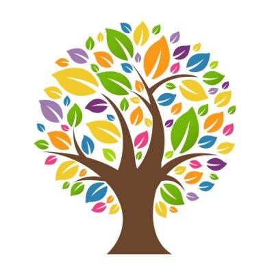 Farbe Baum