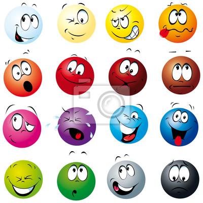 Farbe kugeln mit vielen ausdrücken fototapete • fototapeten ...