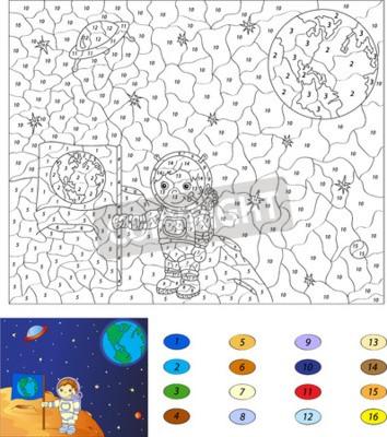 Großzügig Farbe Nach Anzahl Kinder Zeitgenössisch ...
