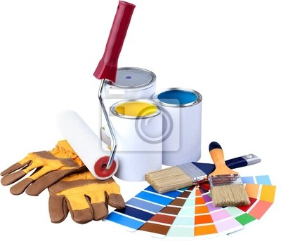 Farbe Spectum Proben und Malen