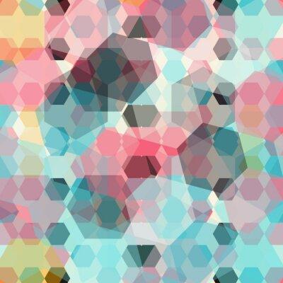 Fototapete Farbigen geometrischen Hintergrund