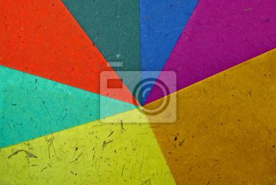 farbigen Papier strukturierter