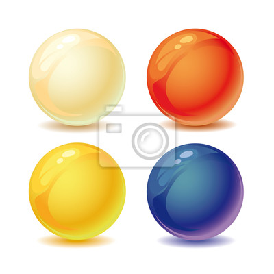 farbigen Perlen