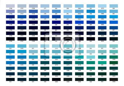 blauer farbton