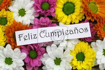 Feliz Cumpleanos Alles Gute Zum Geburtstag Auf Spanisch Mit