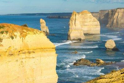 Fototapete Felsen der zwölf Apostel entlang der australischen Küste