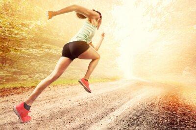 Fototapete Female Runner