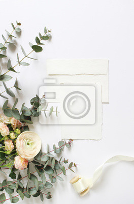Feminine Wedding Birthday Desktop Mock Ups Blank Craft Paper