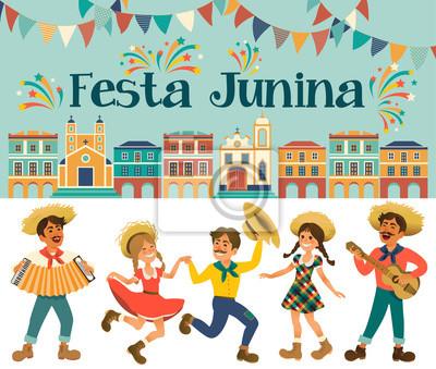 Festa Junina Brasilien Juni Festival Folklore Urlaub