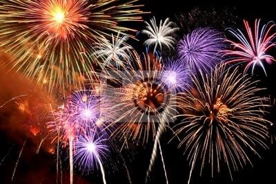 Feuerwerk Platzen