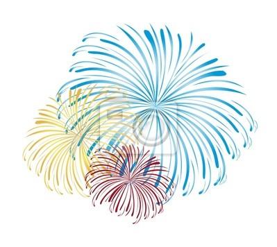 Feuerwerk Vektor