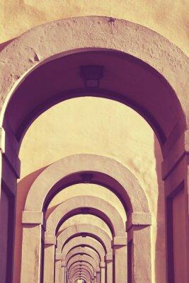 Fototapete Firenze-Weinlese-