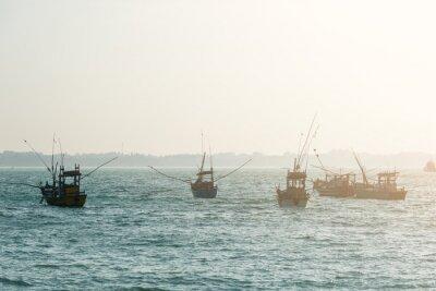 Fototapete Fischerboote