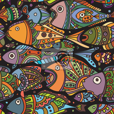 Fishes_pattern_color_black