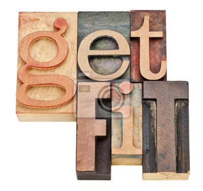 fit - Motivation Konzept