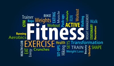 Fototapete Fitness