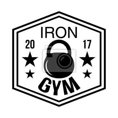 Fitness-club-logo-typen vorlagen in vintage-styles ...