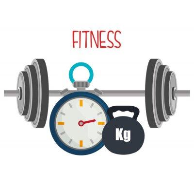 Fototapete Fitness-und Fitness-Lifestyle