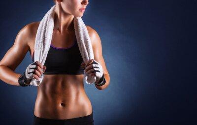 Fototapete Fitness woman