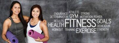 Fototapete Fitness Workout
