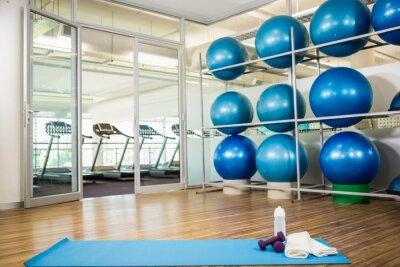 Fototapete Fitnessraum mit keine Menschen