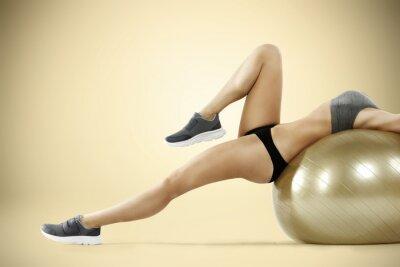 Fototapete Fitnessstudio