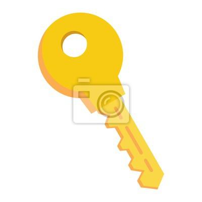 fototapete flache schlsselikone sicherheit und passwort vektorgrafik ein buntes festes muster auf einem - Muster Passwort