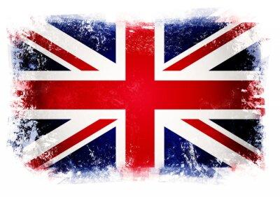 Fototapete Flagge des Vereinigten Königreichs
