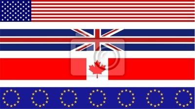 Flagge Grenzen