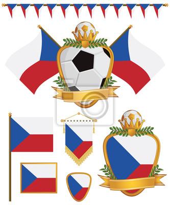 Flaggen der Tschechischen Republik