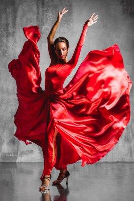 Fototapete Flamenco-Tänzerin