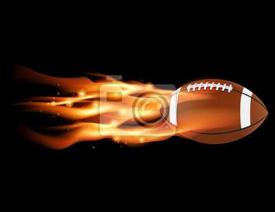 Flaming Fußball