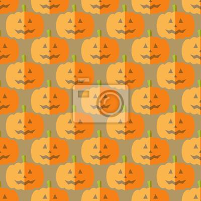 Flat pumpkin