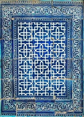 Fototapete Fliesen hintergrund mit orientalischen ornamenten