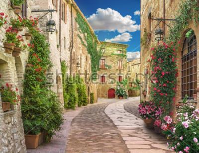 Fototapete Flolar, old Italy street