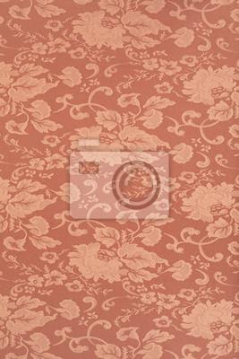 Floral braun wallpaper Textur Hintergrund