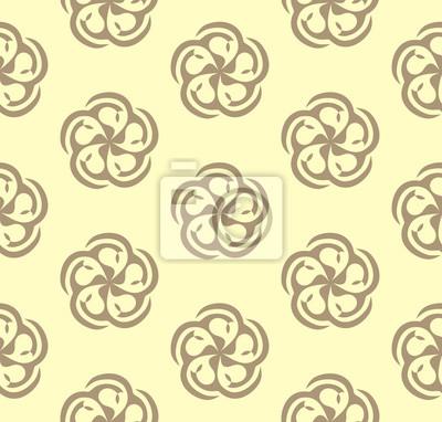 Floral Coffee Pattern