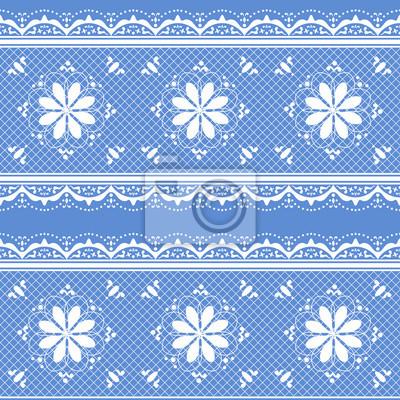 Floral Lochmuster für Design