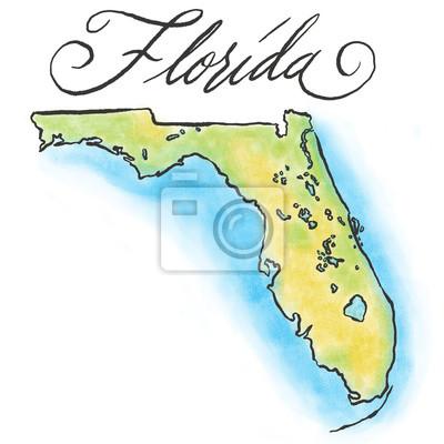 Florida Karte