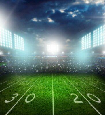 Fototapete Football, american, stadium.