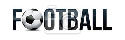 Football Soccer Concept Word Art Illustration