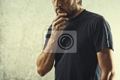 Fototapete Forgetful Man