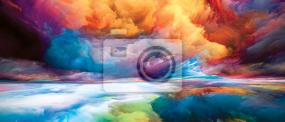 Fototapete Forgotten Inner Spectrum