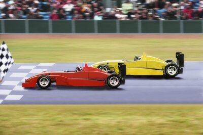Fototapete Formel 1 al traguardo
