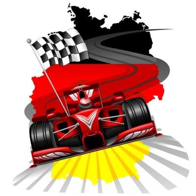 Fototapete Formel 1 GP Deutschland