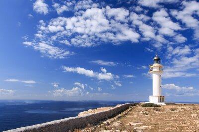 Fototapete Formentera Leuchtturm