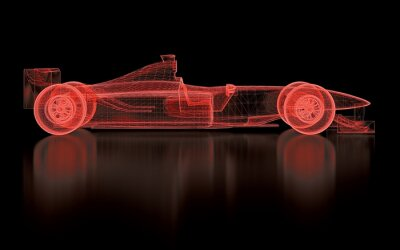 Fototapete Formula One Kult