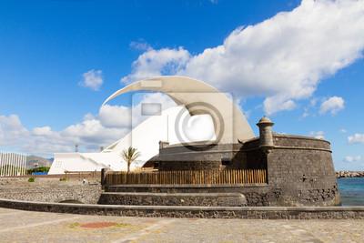 Fototapete Fortress of San Juan, Tenerife, Spain