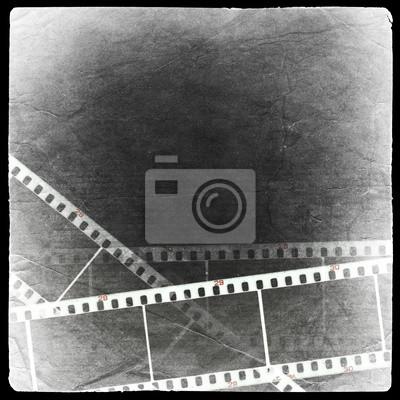 Fotografische negativen Hintergrund. Isoliert auf schwarz.
