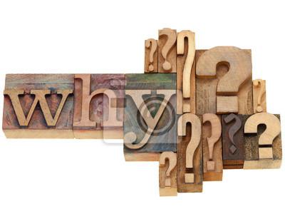 fragen, warum abstrakt
